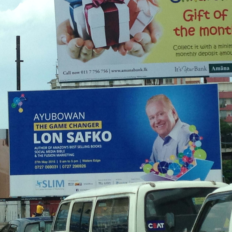 Sri Lanka Billboard