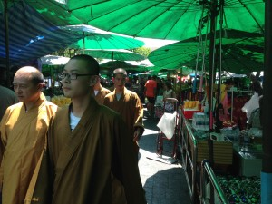 05 Monks In Market